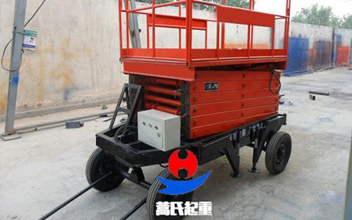 牵引式升降机