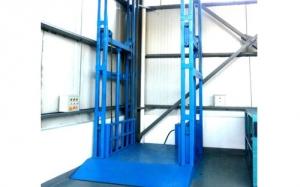 导轨式升降货梯平台