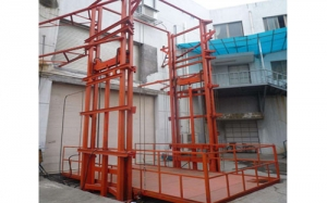 车间导轨式升降货梯